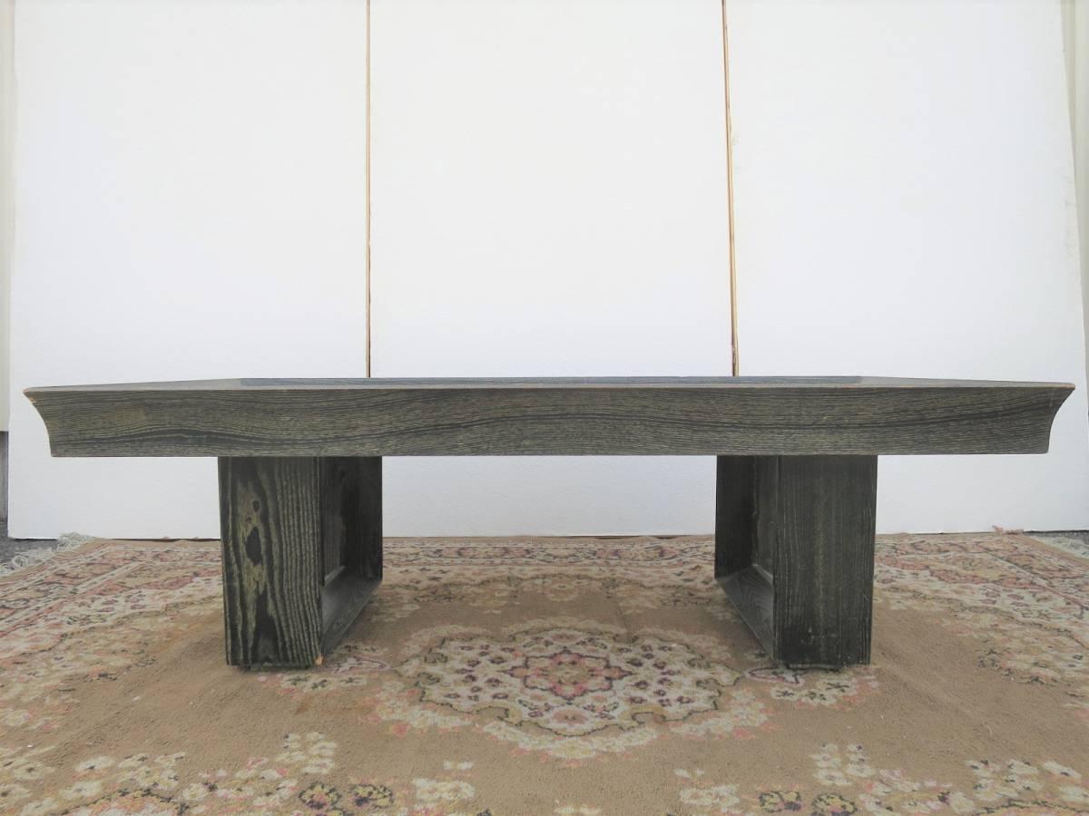 ビンテージ 50's コーヒーテーブル センターテーブル アールデコ 木製 ウッド アンティーク インテリア アメリカ ミッドセンチュリー_画像2