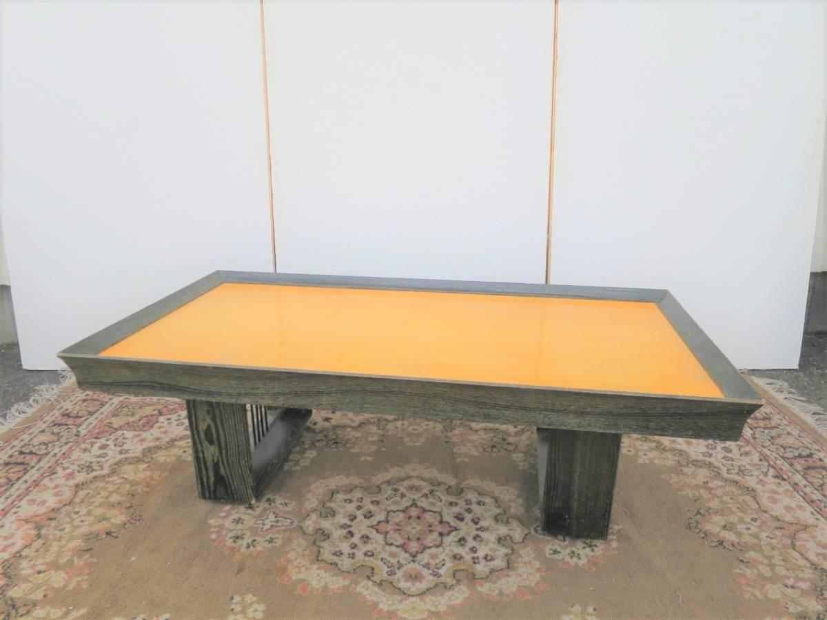ビンテージ 50's コーヒーテーブル センターテーブル アールデコ 木製 ウッド アンティーク インテリア アメリカ ミッドセンチュリー_画像1
