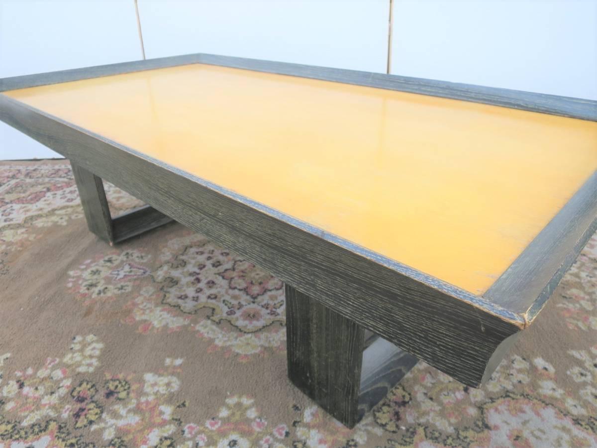 ビンテージ 50's コーヒーテーブル センターテーブル アールデコ 木製 ウッド アンティーク インテリア アメリカ ミッドセンチュリー_画像5