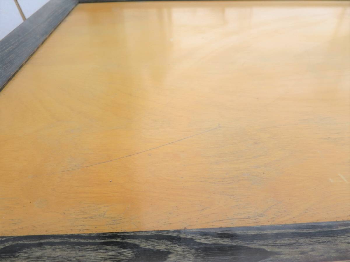 ビンテージ 50's コーヒーテーブル センターテーブル アールデコ 木製 ウッド アンティーク インテリア アメリカ ミッドセンチュリー_画像8