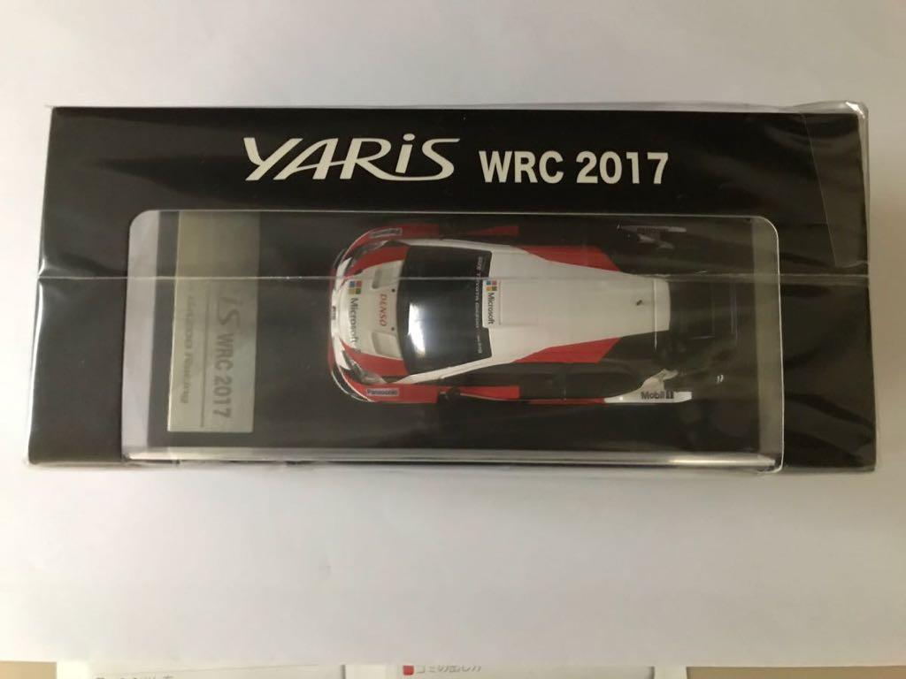 【新品未開封品】トヨタ ヤリス WRC 2017 GR TOYOTA Gazoo Racing 1/43 YARIS_画像5
