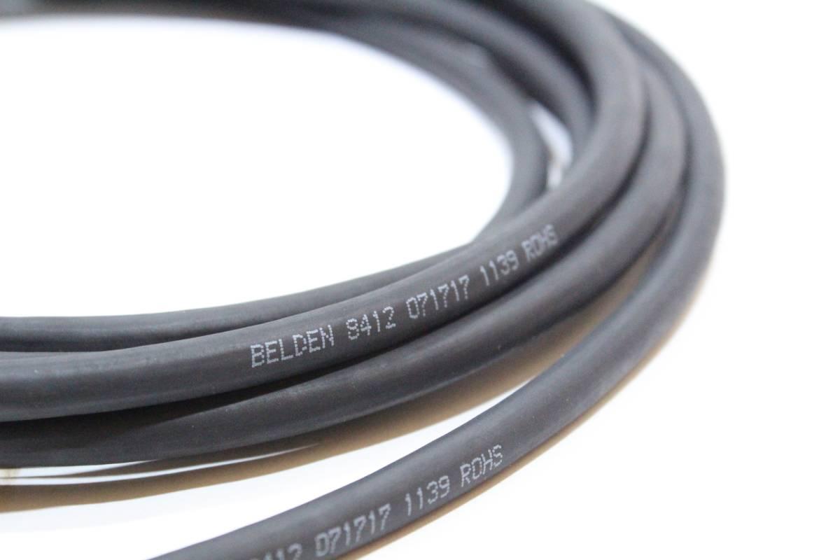 BELDEN 8412 × HKM PLUG【5m S-L】送料無料 シールド ケーブル ギター ベース ベルデン 日の出光機_画像4
