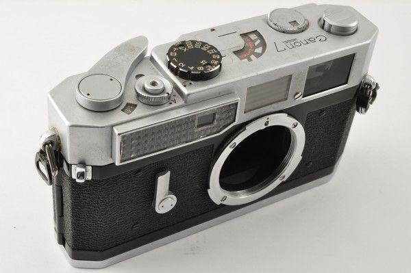 CANON キャノン 7 35mm レンジファインダー ボディ_画像3
