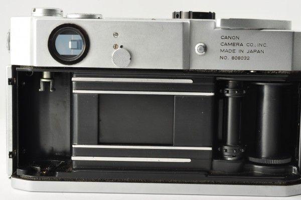 CANON キャノン 7 35mm レンジファインダー ボディ_画像9