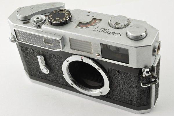 CANON キャノン 7 35mm レンジファインダー ボディ_画像2