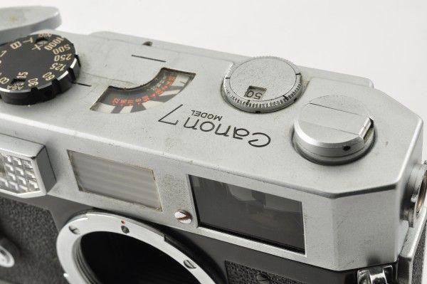 CANON キャノン 7 35mm レンジファインダー ボディ_画像7