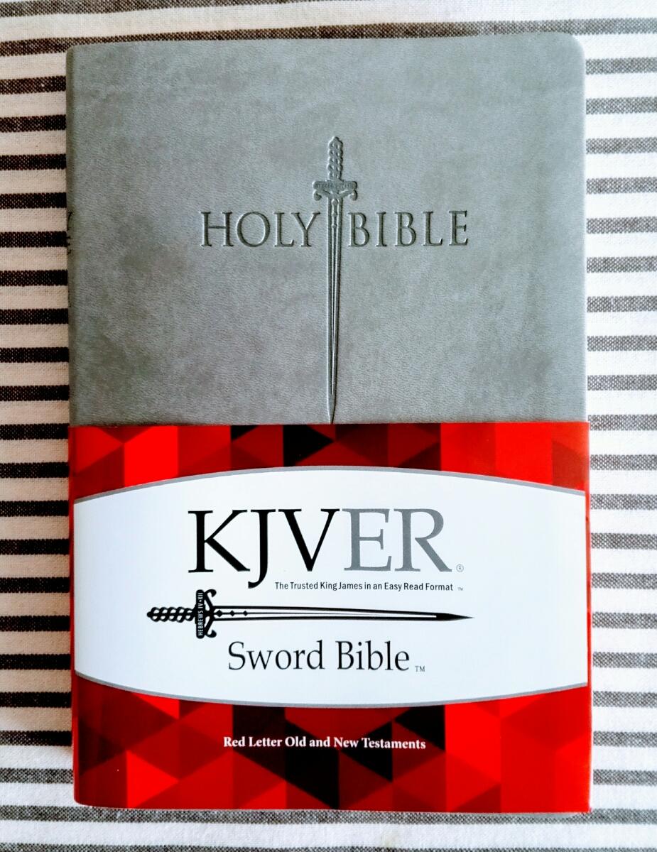 KJVER 欽定訳聖書 KJV 英語 ほぼ新品 聖書 English Authorized Bible