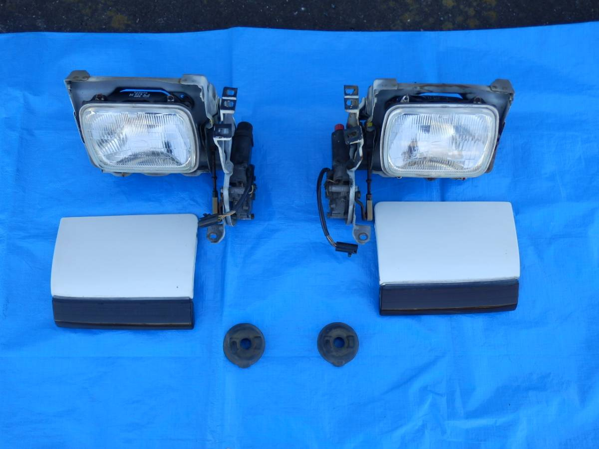 AE86 トレノ ヘッドライト リトラ 左右セット_画像2