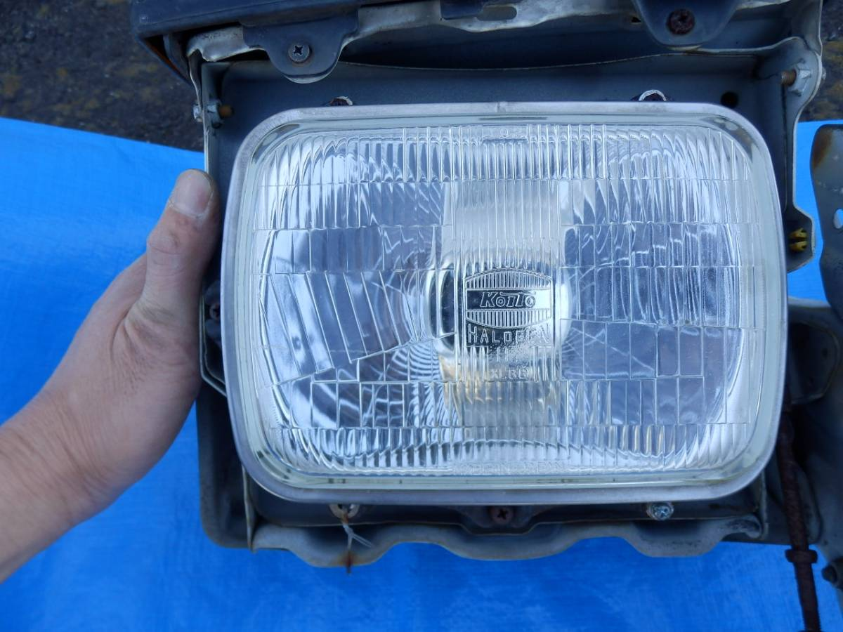 AE86 トレノ ヘッドライト リトラ 左右セット_画像5