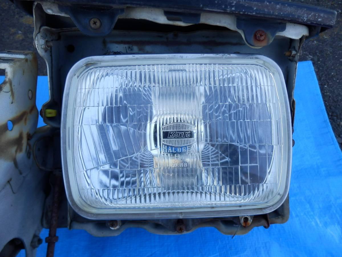 AE86 トレノ ヘッドライト リトラ 左右セット_画像8