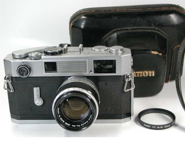 Canon 7s + CANON 50mm F1.8 ライカLマウント     キャノン 50ミリ 1.8 レンジファインダー Leica L mount  7S