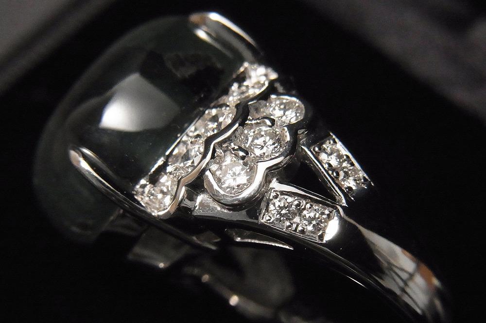 稀少 天然 トラピッチェエメラルド 21.43ct 上質メレダイヤモンド 1.16ct Pt900 リング 鑑別書 最高級_画像8