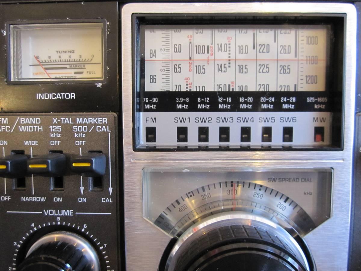 ★BCL National RF-2200 クーガー COUGAR 短波ラジオ★_画像7