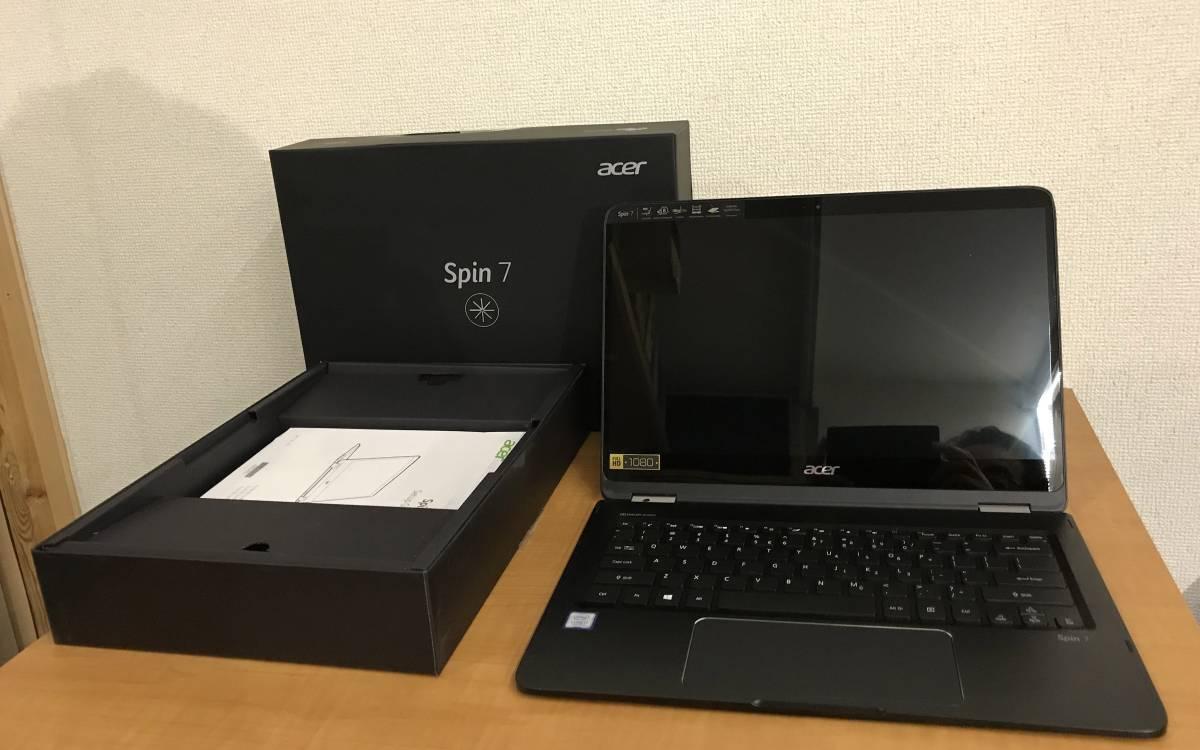 ジャンク Acer Spin SP714-51-M4YD(14インチ/Corei7/フルHD/?GB/SSD:無し)