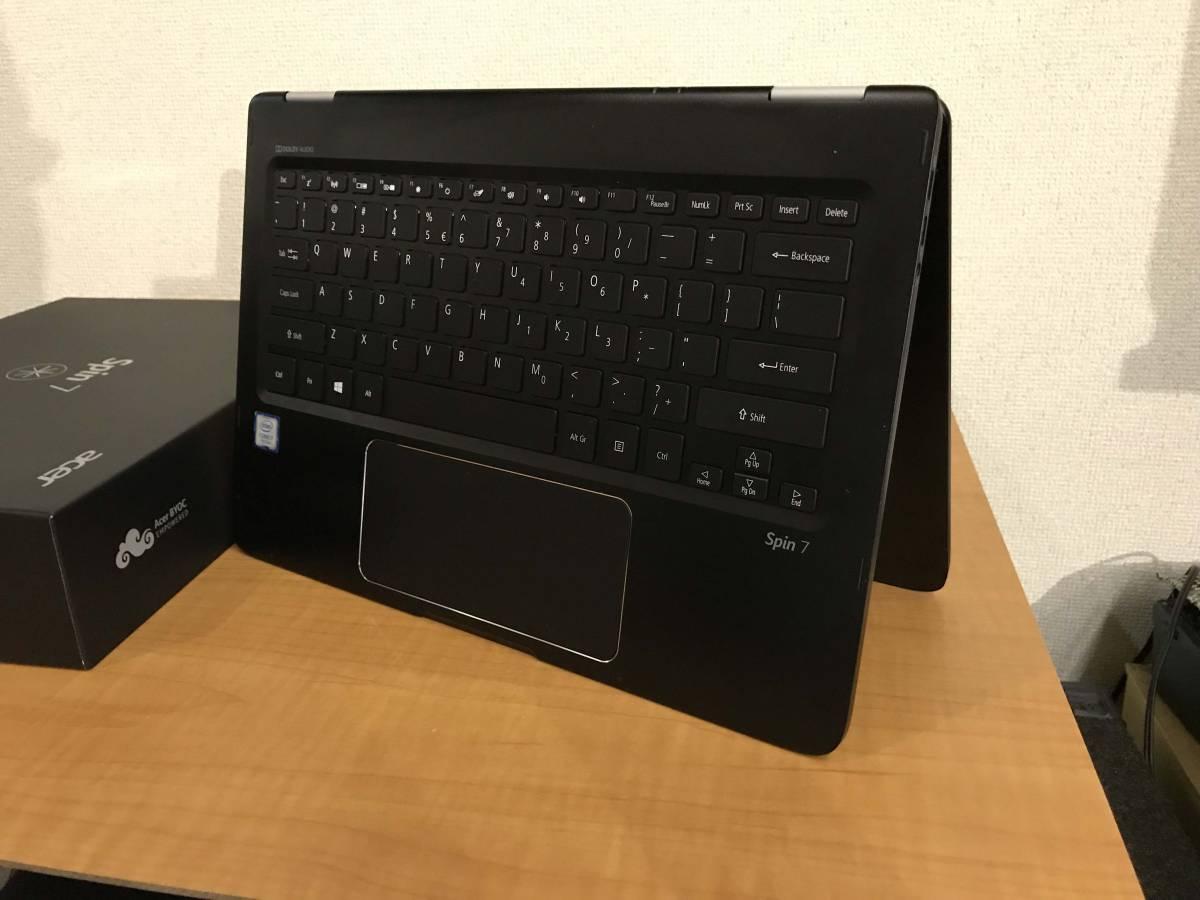 ジャンク Acer Spin SP714-51-M4YD(14インチ/Corei7/フルHD/?GB/SSD:無し)_画像4