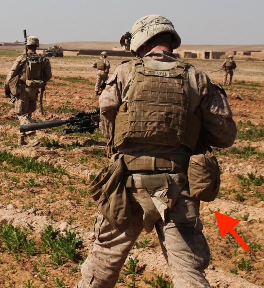 米軍放出品 実物 USMC 米海兵隊 コヨーテ IFAK ポーチ 20x24 リーコン 迷彩 中古 FSBE FILBE MARSOC RECON ACU NWU SEALS hgehx_画像5
