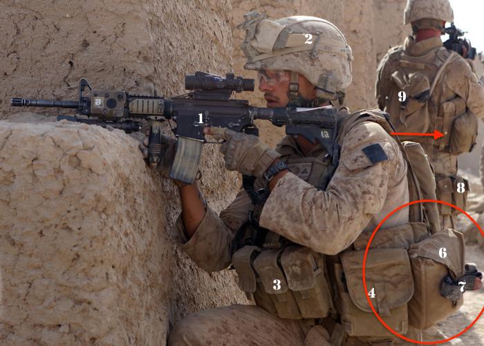米軍放出品 実物 USMC 米海兵隊 コヨーテ IFAK ポーチ 20x24 リーコン 迷彩 中古 FSBE FILBE MARSOC RECON ACU NWU SEALS hgehx_画像7