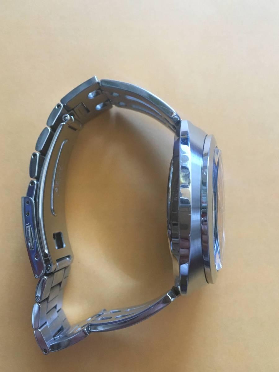 SEIKO セイコー 5 SPORTS ファイブスポーツ 7S36-0110 メンズ 自動巻 復刻版 稼働品_画像6