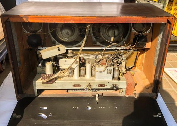 TELEFUNKEN Opus7 西ドイツ テルファンケン オプス7 真空管ラジオ ビンテージ_画像5