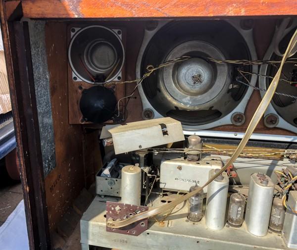 TELEFUNKEN Opus7 西ドイツ テルファンケン オプス7 真空管ラジオ ビンテージ_画像9