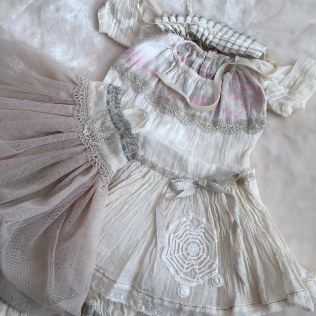 SD少女用 ディーラー様製お洋服セット C/T/B様製 オデット+その他 美品_画像2