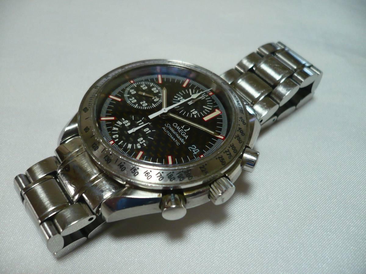 OMEGA☆Ω オメガ スピードマスター レーシング シューマッハ 自動巻 メンズ  腕時計☆訳_画像3