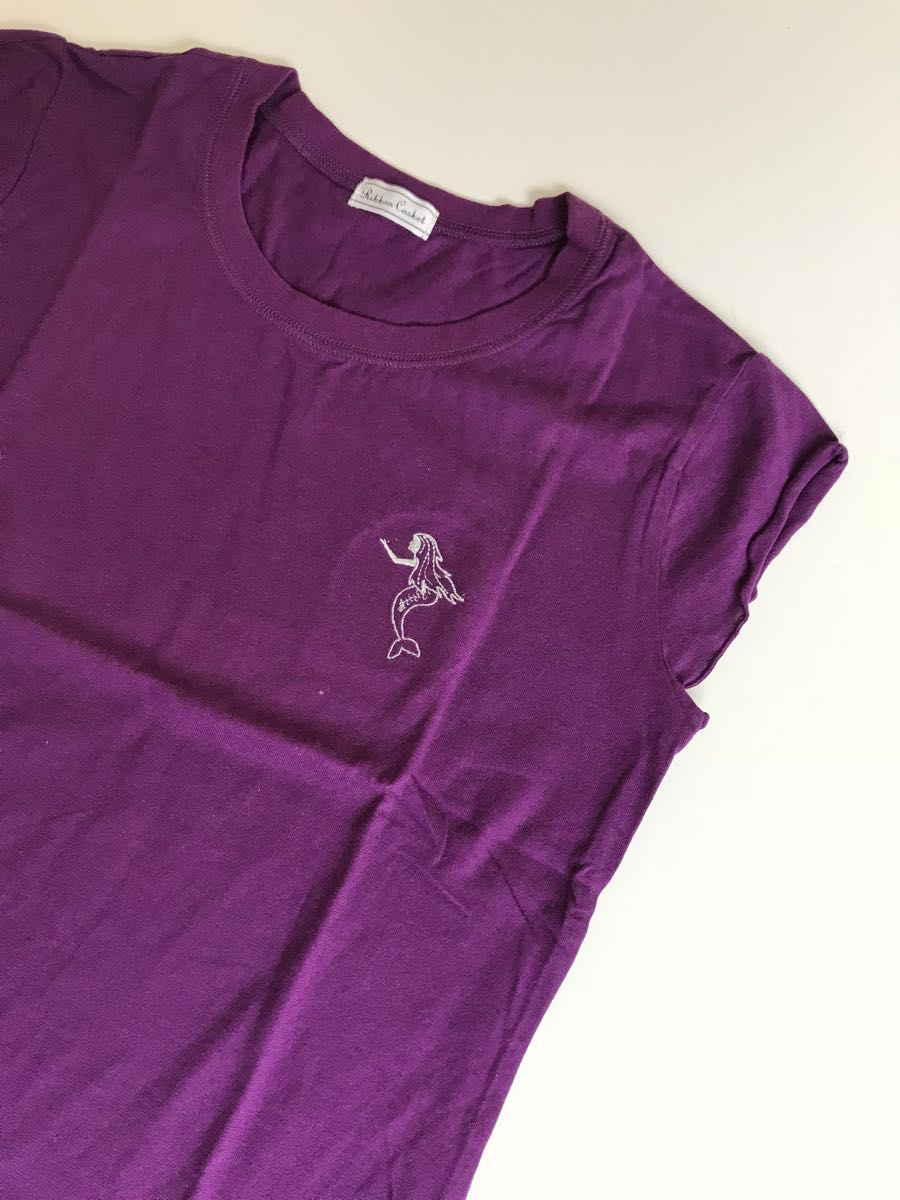 e6285389d0f9b 代購代標第一品牌- 樂淘letao - 新品未使用 リボンキャスケット マーメイドTシャツ