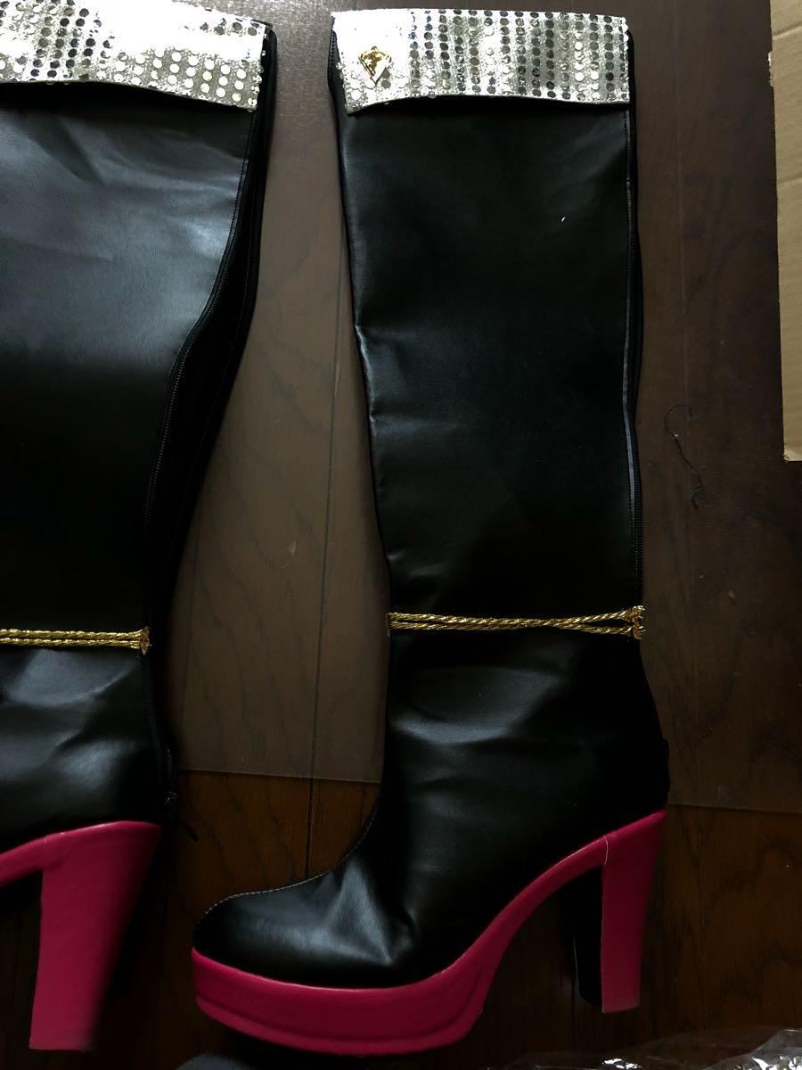 コスプレ衣装 城ヶ崎美嘉 SSR ハート☆オーバーフロー アイドルマスターシンデレラガールズ スターライトステージ ブーツ付き_画像3
