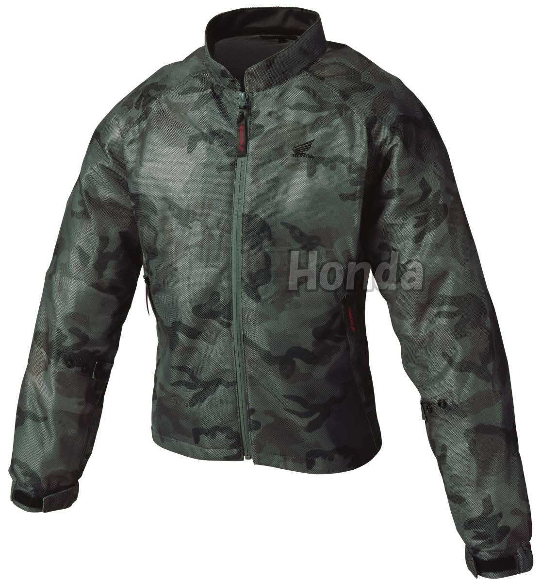 ■Honda エアスルーUVジャケット カモフラージュ 3Lサイズ 0SYTH-Y3S-C