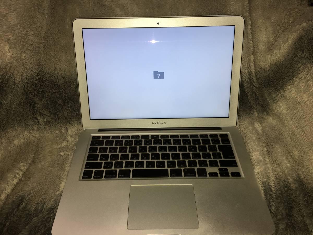 ジャンク MacBook Air late 2010 SSD付き_画像3