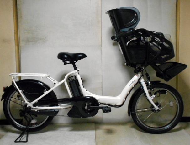 ヤマハ PAS Kiss ミニ 20インチ 8.7Ahバッテリー 新基準3人乗り対応モデル 即決落札で送料もしくは配達代無料サービス