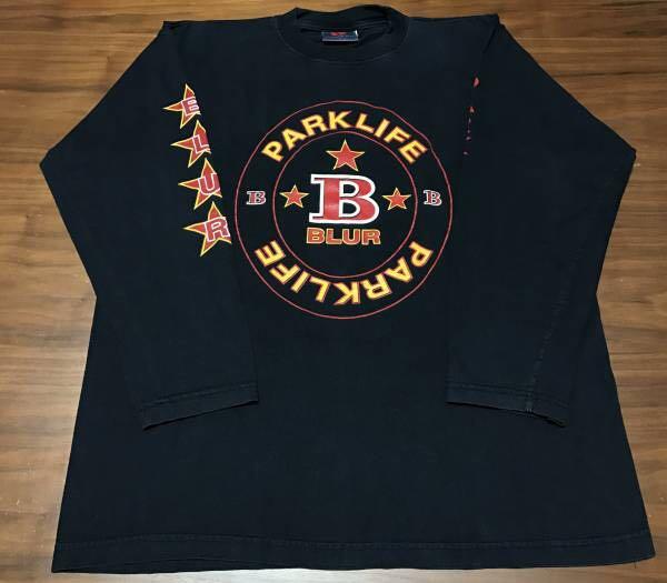 90s ビンテージ blur ブラー ロンT Tシャツ XLサイズ 90年代 ヴィンテージ バンドT OASIS NIRVANA ブリットポップ_画像1