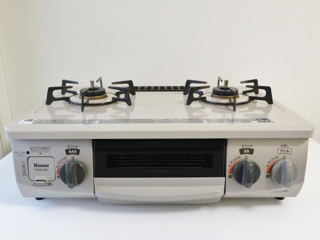 2017年製 Rinnai/リンナイ ガスコンロ/ガステーブル LPガス 型式 DCMO1BEL RT33NJHーL