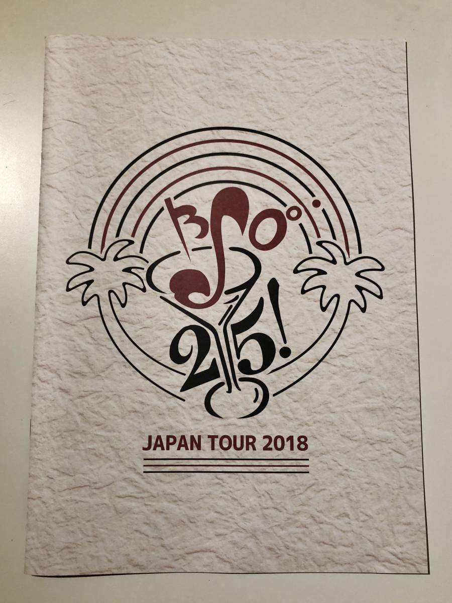 2018 ブライアンセッツァーオーケストラ 25周年 ジャパンツアー パンフレット