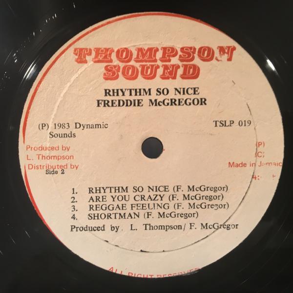 ★Freddie McGregor/Rhythm So Nice★WAR/ALL DAY MUSICカバー?_画像3