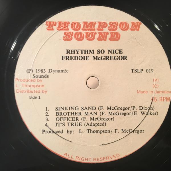 ★Freddie McGregor/Rhythm So Nice★WAR/ALL DAY MUSICカバー?_画像2