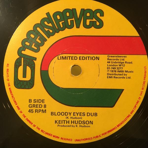★Keith Hudson/Bloody Eyes★LOVERS ROCK!レア!_画像2
