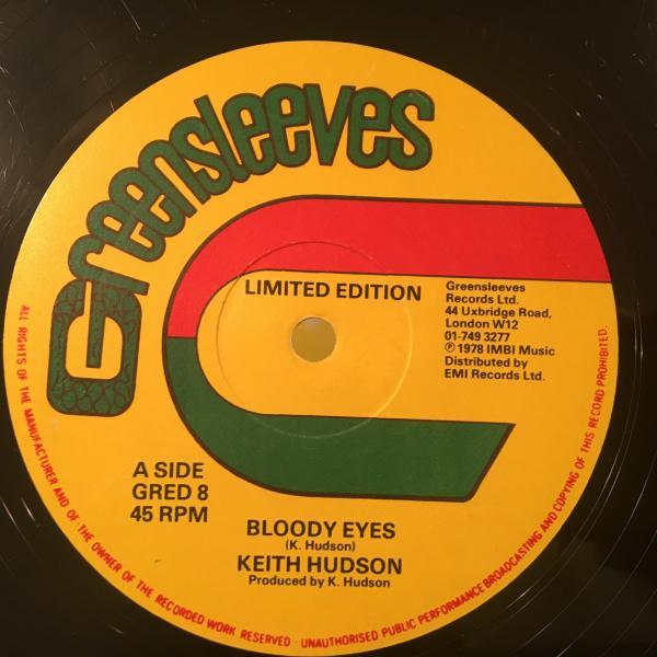 ★Keith Hudson/Bloody Eyes★LOVERS ROCK!レア!_画像1