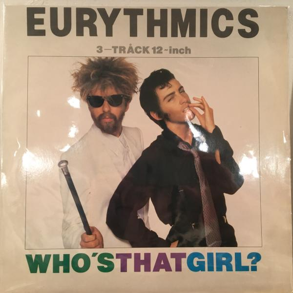 ☆Eurythmics/Who's That Girl?☆KILLER MINIMAL SYNTH!アルバム未収!
