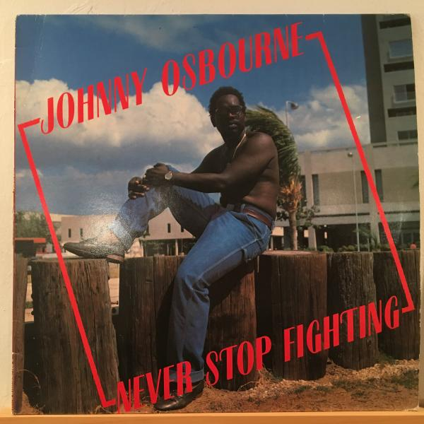 ★Johnny Osbourne/Never Stop Fighting★ROOTS名盤!SCIENTIST!_画像1