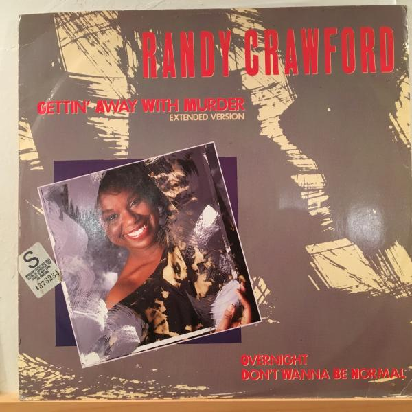 ☆Randy Crawford/Gettin' Away With Murder☆メロウソウル12!_画像1