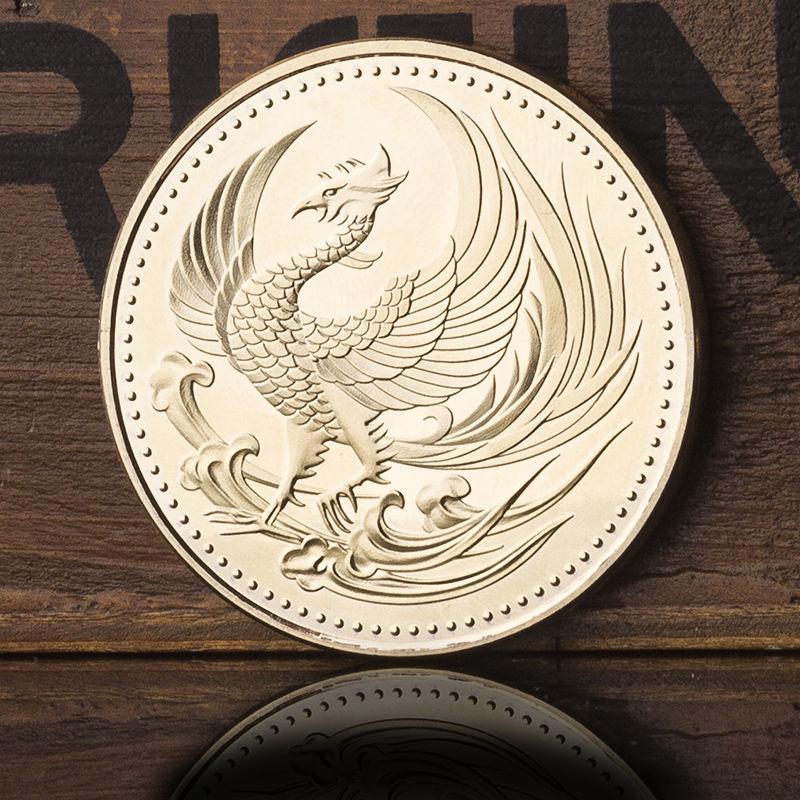 24KGP 記念メダル 菊の御紋 菊紋 鳳凰 メダル 金 ゴールド コイン_画像10