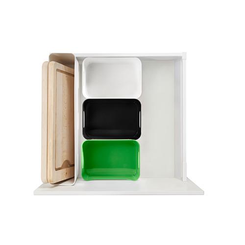 ☆ IKEAイケア ☆ VARIERA ボックス, (ブラック、グリーン、グレー、レッド、ホワイト の中から好きなカラー4個セット)送料750円~ u _画像6