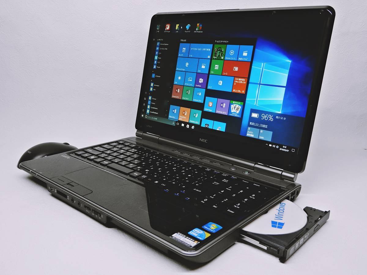 NEC LaVie / 新品SSHDハイブリッド(SSD内臓8GB+HDD1000GB) /Ram4GB/Windows10/WIFI/Office2013/Blu-ray/ Core i5/AC Adapter/ LL750/BS