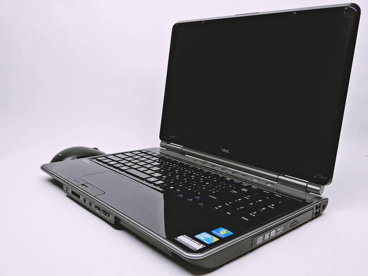 NEC LaVie / 新品SSHDハイブリッド(SSD内臓8GB+HDD1000GB) /Ram4GB/Windows10/WIFI/Office2013/Blu-ray/ Core i5/AC Adapter/ LL750/BS_画像3