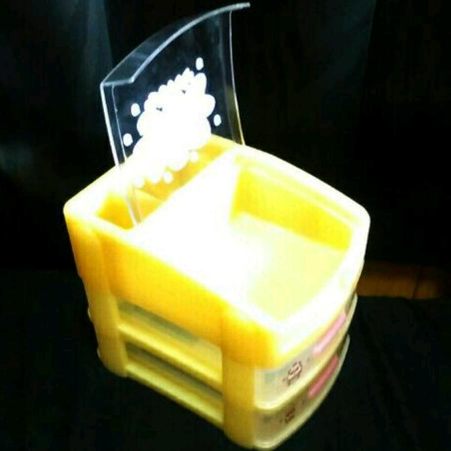 レア 新品 1998 2000 コロコロクリリン チェスト 収納BOX プラチェスト 収納 ボックス box ケース 小物入れ サンリオ クリリン ハムスター_画像3