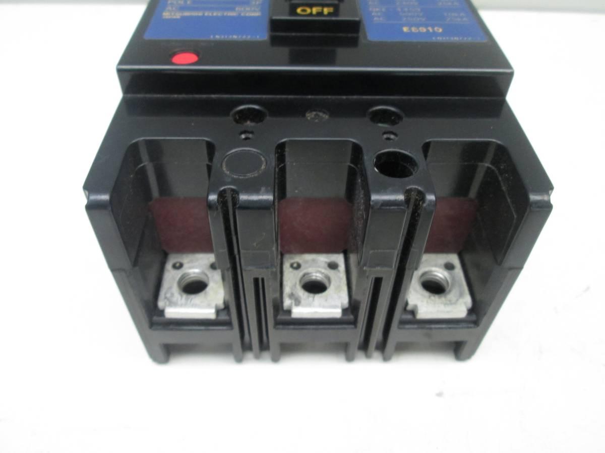 三菱 ノーヒューズ遮断器 ブレーカー NF100-CS #12_画像4
