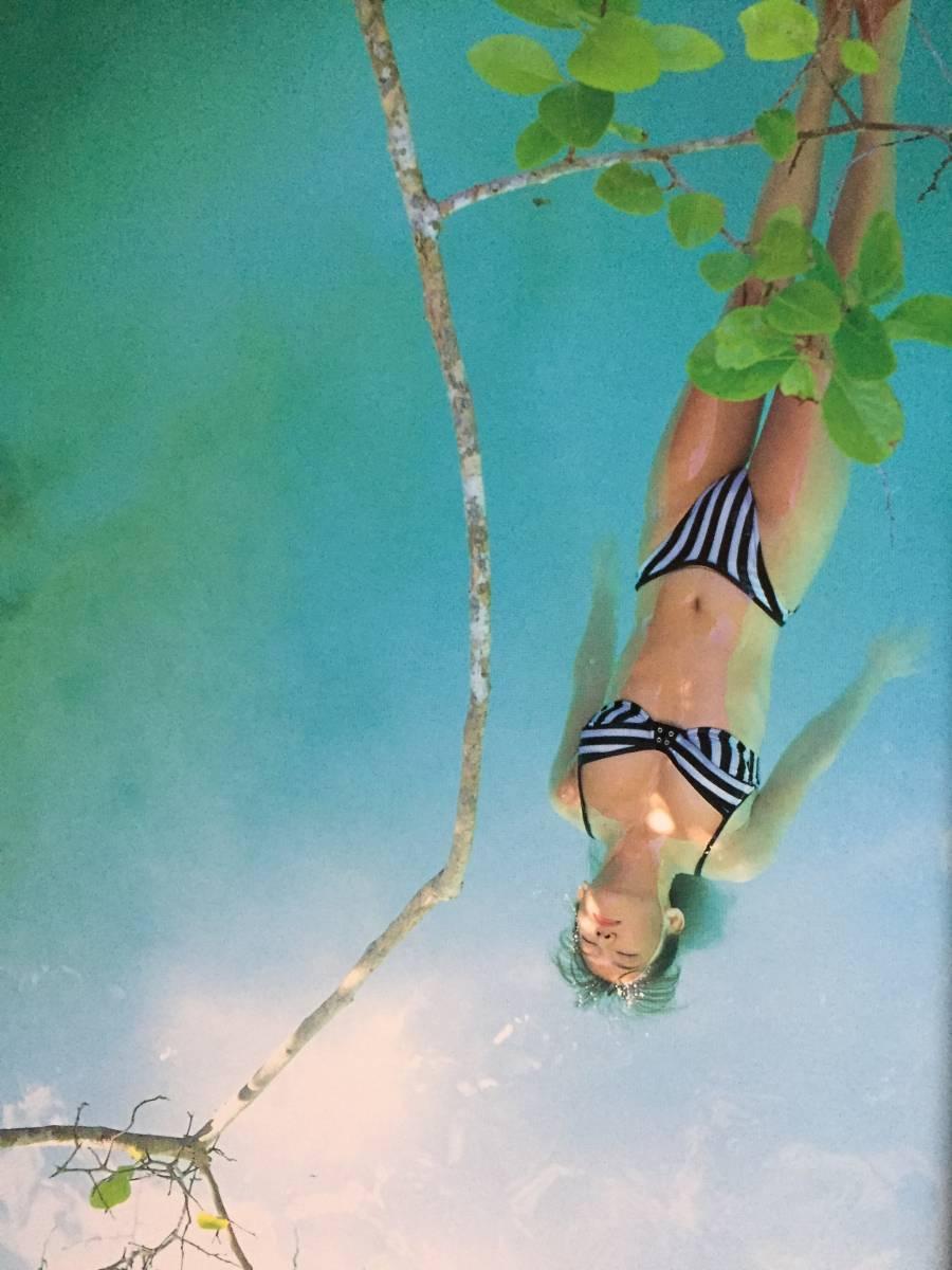 古本 帯なし 写真集 STROKE ストローク 坂木優子 グラビアアイドル 巨乳 撮影:荒木秀明 送料¥188~_画像2