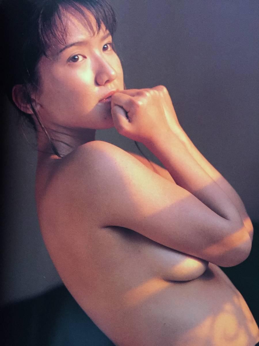 古本 帯なし 写真集 STROKE ストローク 坂木優子 グラビアアイドル 巨乳 撮影:荒木秀明 送料¥188~_画像7