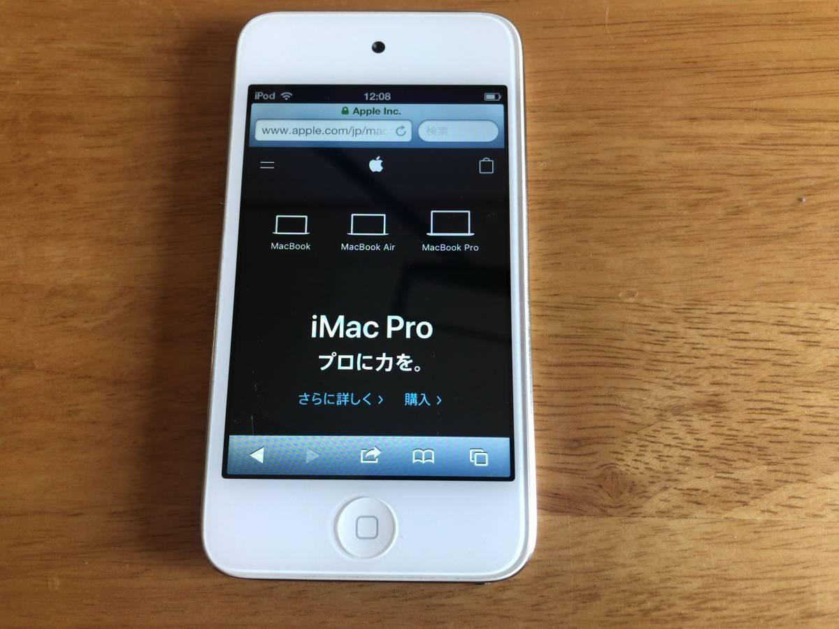 iPod touch 第4世代 32GB 中古 動作します。_画像4